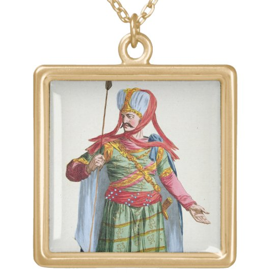 Calamin-Han, Emperor and Sovereign of Asia from 'R Gold Plated Necklace