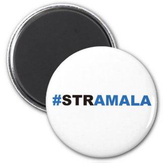 Calamita #stramala 2 inch round magnet