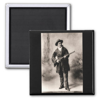 Calamity Jane 1895 2 Inch Square Magnet