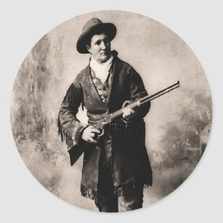 Calamity Jane 1895 Classic Round Sticker