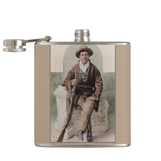 Calamity Jane 1895 Hip Flask
