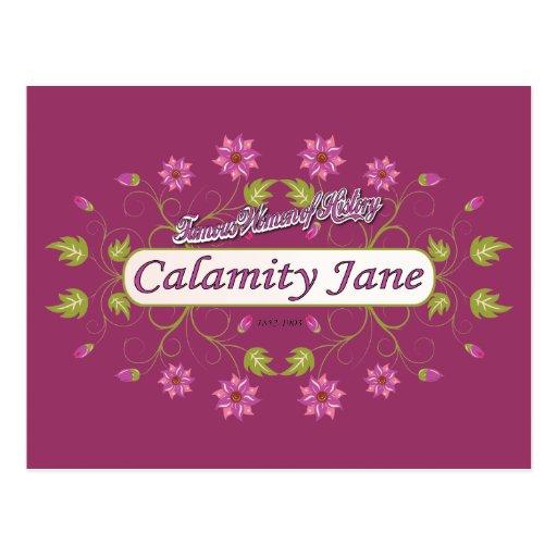 Calamity Jane ~ Famous American Women Post Card