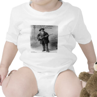 Calamity Jane Humor Quote Gifts Tees & Cards Rompers
