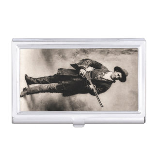 Calamity Jane in 1895 by H.R. Locke Business Card Holder