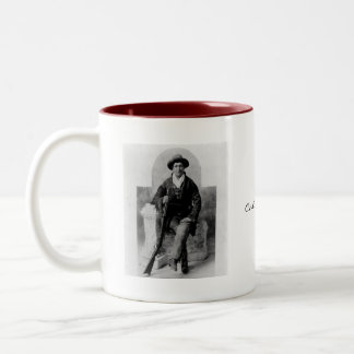 Calamity Jane Portrait Two-Tone Coffee Mug