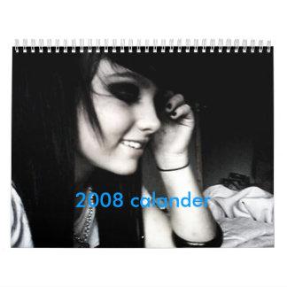 calander de Gabriela y de los amigos Calendarios De Pared