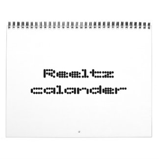 Calander de Reeltz Calendarios De Pared