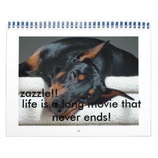 ¡calander del perro!!! ¡usted lo amará que calendario