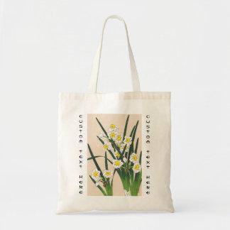 Calander floral de Japón Kawarazaki Shodo Japón Bolsa Lienzo