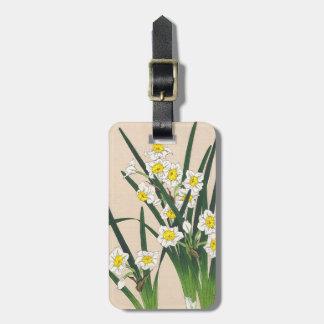 Calander floral de Japón Kawarazaki Shodo Japón Etiquetas Bolsas