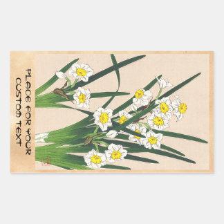 Calander floral de Japón Kawarazaki Shodo Japón Pegatinas