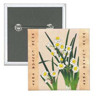Calander floral de Japón Kawarazaki Shodo Japón Pins