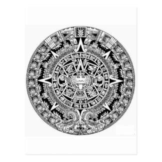Calander maya tarjetas postales