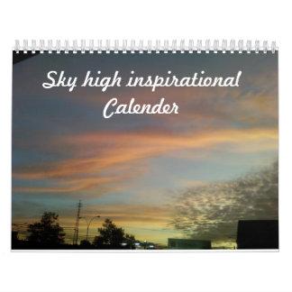 Calandrias inspiradas calendario de pared