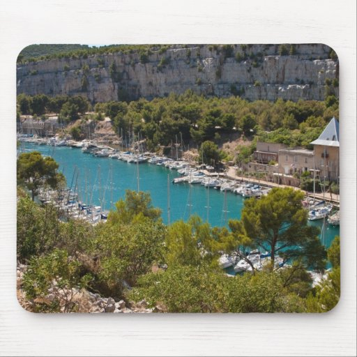 Calanque of Port-Miou Mouse Pad