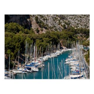 Calanque of Port-Miou Postcard