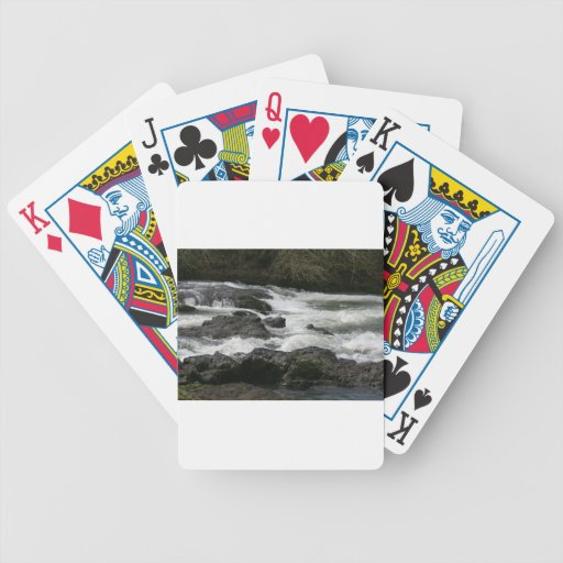 Calapooya River at McKercher Park Bicycle Playing Cards