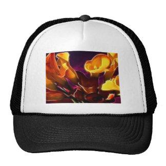 Calas púrpuras oscuras frescas gorras de camionero