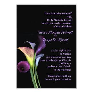 Calas que casan la invitación invitación 12,7 x 17,8 cm