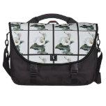 Calas románticas del blanco del vintage bolsas de portátil