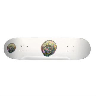 calavera 2, calavera 2 skateboard deck
