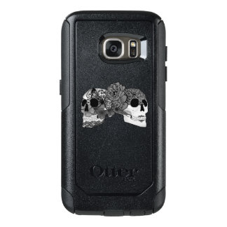Calavera B&W couple Otterbox Samsung Galaxy S7