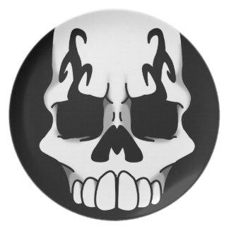 Calavera (Black) Plate