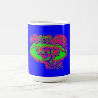 Calavera Catrina en taza del color