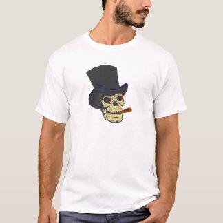 Calavera cráneo cigarro skull cigar playera