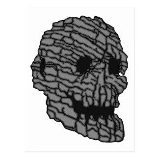 Calavera cráneo piedra skull rock tarjetas postales