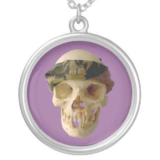 Calavera cráneo skull grupo de frente headband colgante redondo