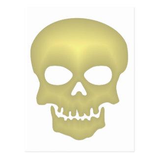 Calavera cráneo skull tarjeta postal