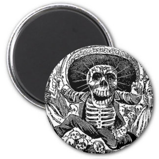 Calavera Day of the Dead Magnet