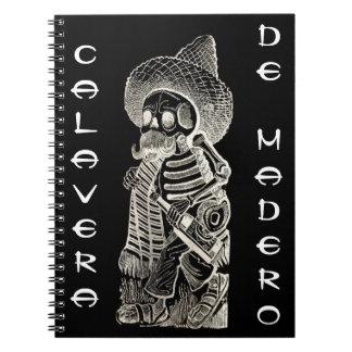 Calavera De Madero Notebook