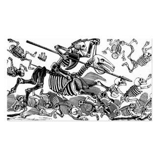 """""""Calavera del Don Quijote"""" circa 1900's temprano Tarjeta De Negocio"""