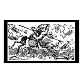 """""""Calavera del Don Quijote"""" circa 1900's temprano Tarjetas Personales"""