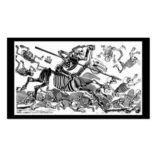 """""""Calavera del Don Quijote"""" circa 1900's temprano Tarjetas De Visita"""