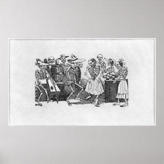 Calavera du jarabe d'outretombe' poster