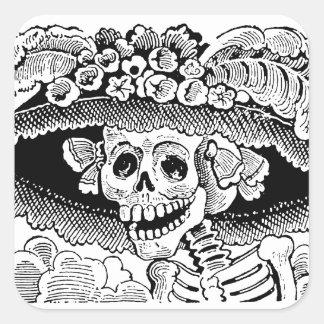 Calavera Garbancera (Catrina) by José Posada Sticker