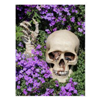 Calavera - Gothic, tarjeta postal/ Postales