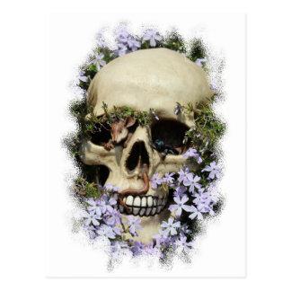 Calavera - Gothic, tarjeta postal/ Tarjeta Postal