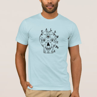 Calavera Mens Sugar skull T-Shirt