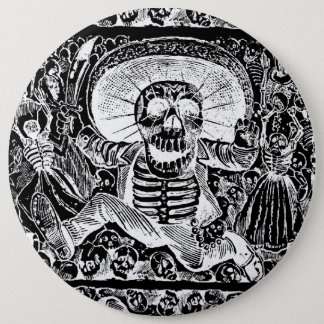 Calavera Oaxaquena Button