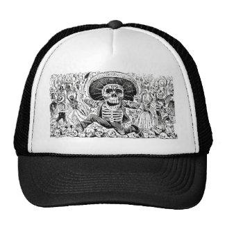 Calavera Oaxaqueña by José Guadalupe Posada 1903 Trucker Hat