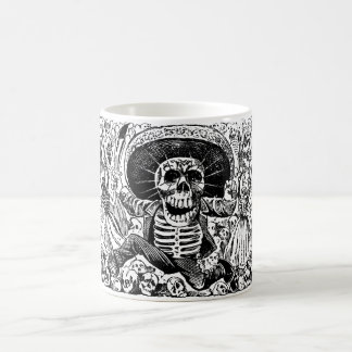 Calavera Oaxaqueña by José Guadalupe Posada Classic White Coffee Mug