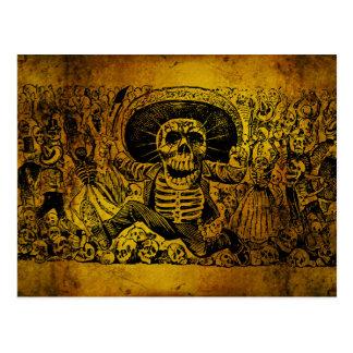 Calavera Oaxaqueña de José Guadalupe Posada Postales