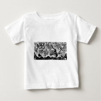 Calavera of Artists and Artisans c. 1900s Mexico Baby T-Shirt