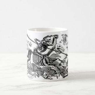 """Calavera of Don Quixote"" circa early 1900's Coffee Mug"