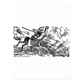 """""""Calavera of Don Quixote"""" circa early 1900's Postcard"""
