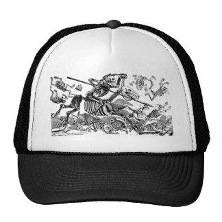 """""""Calavera of Don Quixote"""" circa early 1900's Trucker Hat"""
